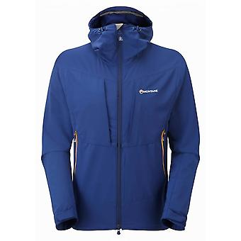 Montane Mens Dyno Stretch Jacket Antartic Blue (X-Large)