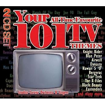 Your 101 All Time Favourite TV Themes by Gordon Lorenz Orches