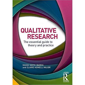 Qualitative Research: The essential guide to theory and practice (Paperback) by Savin-Baden Maggi Major Claire Howell