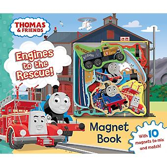 Thomas Engines To The Rescue Magnet Book by Egmont Publishing Uk