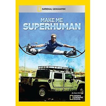 MakeMe Superhuman [DVD] USA import