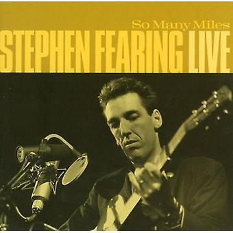 Stephen Fearing - importación USA tantas millas-en vivo [CD]