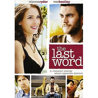 The Last Word [DVD] USA import