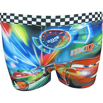 Boys Disney Cars Lightning McQueen Swimming Trunks Boxers