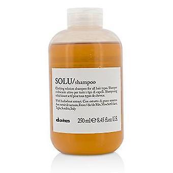 Davines Solu tydeliggøre løsning Shampoo (til alle hårtyper) - 250ml/8.45 oz