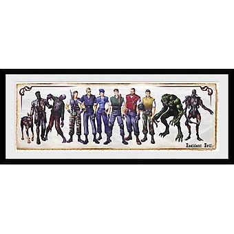Resident Evil Concept Art Framed Collector Print