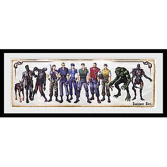 Resident Evil Concept Art frame af: drukken van de verzamelaar