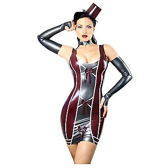 Westward Bound Madame Bombastille Latex Rubber Dress.