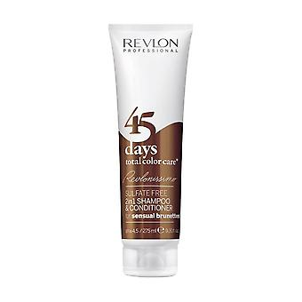 Revlon Revlonissimo 45 Days 2in1 Shampoo & Conditioner Sensual Brunettes 275ml