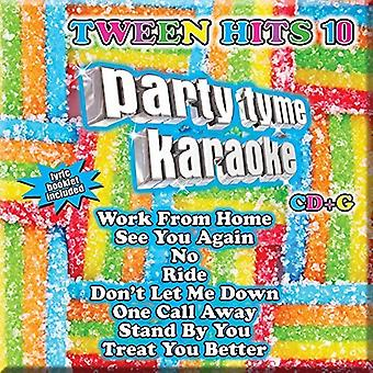 Part Tyme Karaoke - Tween Hits 10 (8 + 8 S [CD] USA importerer