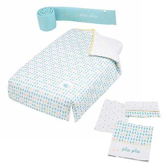 Micuna With Game Protector and Quilt Sheets Cradle 120x60 Pio-Pio