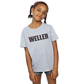 Paul Weller filles Paisley Logo 2 T-Shirt