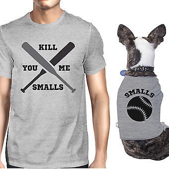 Du tötest mich kleinen grauen passende Grafik Shirts lustige Tierbesitzer Geschenk