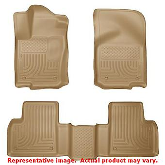 Asiento F de HUSKY Liners 98983 Tan WeatherBeater frontal y 2 ajustes: MERCEDES-BENZ 2012