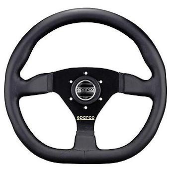 Sparco Steering Wheel - Tuner - Ring L360 015TRGL1TUV 330mm Leather Black Fits: