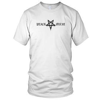 Black Metal Mens T Shirt