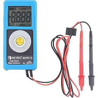 Handheld multimeter digital Metrel MD 9010 Calibrated to: Manufacturer's standards (no certificate) CAT II 600 V Displa