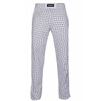 JUNK YARD Byxa-LON pants men's sweatpants white placket