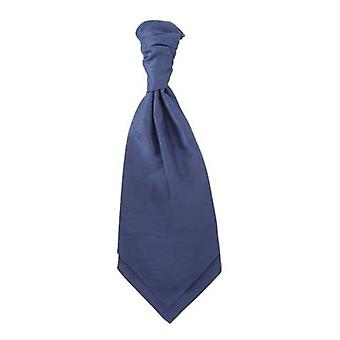 Air Force Blue Ruche Tie