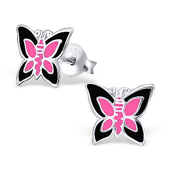 Papillon - 925 Sterling Silver argenter coloré