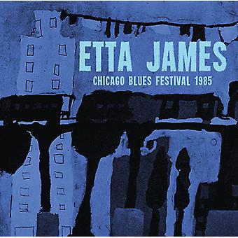 James * Etta - Chicago blå festivalen 1985 [CD] USA import