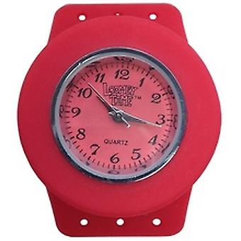 Loomey temps seule montre (rouge framboise)
