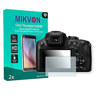 Panasonic Lumix DMC-FZ72 Screen Protector - Mikvon Clear (Retail Package with accessories)