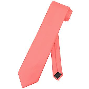 Vesuvio Napoli NeckTie Solid EXTRA LONG Men's XL Neck Tie