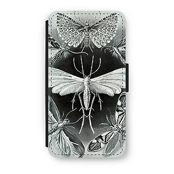 iPhone X Flip Case - Haeckel Tineida