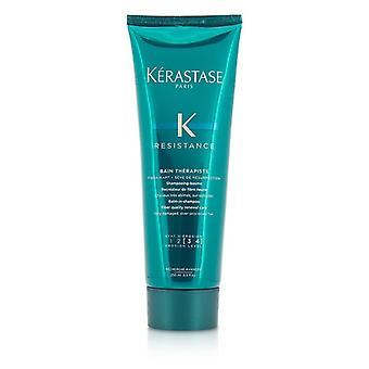 Kerastase motstand Bain Therapiste balsam i sjampo Fiber kvalitet Renewal Care - For svært skadet, over behandlet hår (ny emballasje) 250 ml/8.5 oz