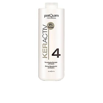 Postquam Keractiv Reconstructor Shampoo With Keratin 1000ml Womens New