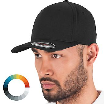 Flexfit WOOLY 5 Panel stretchable Baseball Cap