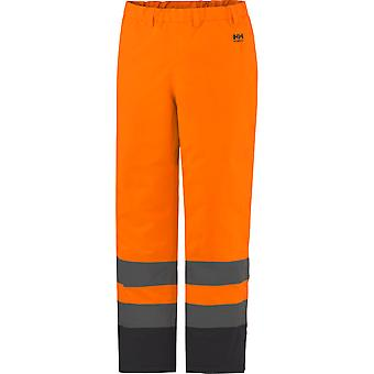 Helly Hansen Mens Alta Insulated Waterproof High-Vis Workwear Trousers