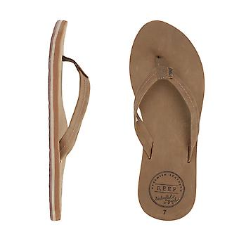 Reef Chill Leather Sandals - Tobacco