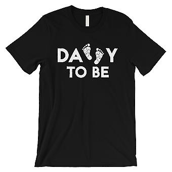 Daddy To Be Mens Black Shirt