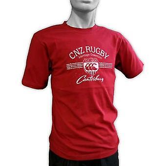 CCC Vintage label T-shirt [rot]
