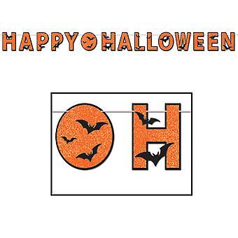 Сверкали Счастливый Хэллоуин баннер