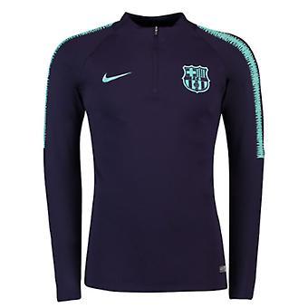 2018-2019 Barcelona Nike Drill Training Top (Purple Dynasty)