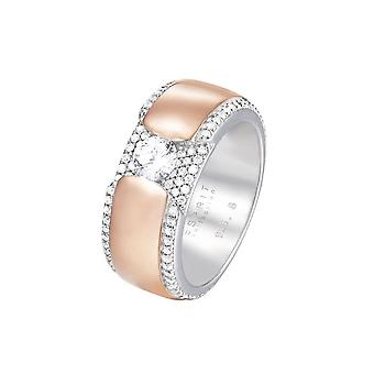 ESPRIT collection ladies ring silver Rosé cubic zirconia Safira GR 18 ELRG92456B180