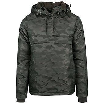 Urban classics jacket padded Camo pull over