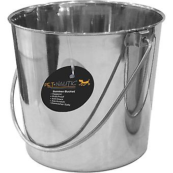 Pet Nautic Stainless Steel Pail 6Qt-