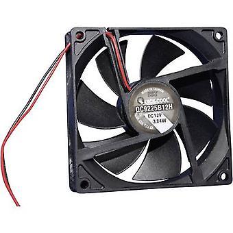 QuickCool QC9225B12H Axial fan 12 Vdc 100,24 m ³/h (L x W x H) 92 x 92 x 25mm