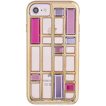 Case-Mate Caged Crystal iPhone 8/7/6s/6 Case - Rose Gold