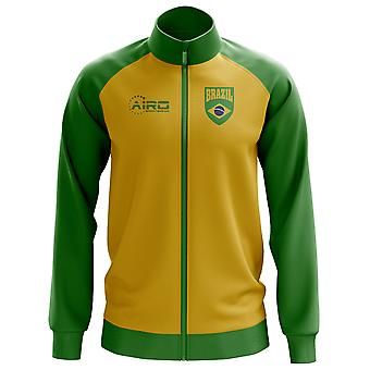 Brazil Concept Football Track Jacket (Yellow) - Kids