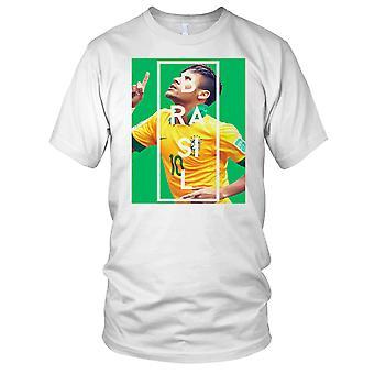 Brazil Neymar Football Legend Kids T Shirt