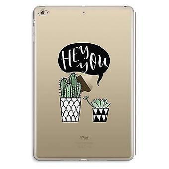 iPad Mini 4 Transparent Case (Soft) - Hey you cactus