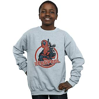 Wonder Boys Deadpool Gun vinger Sweatshirt