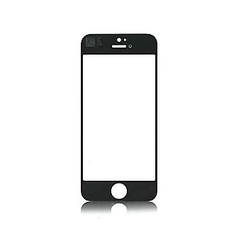Stuff Certified ® iPhone 5 / 5C / 5S / SE Front Glass Glass Plate A + Quality - Black