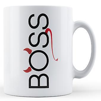 Boss Devil Horns Tail - Printed Mug