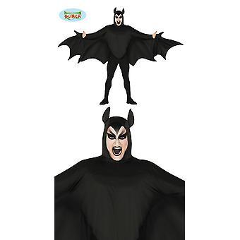 Bat costume bat adult size L 52-54